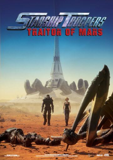 Starship Troopers Traitor of Mars (2017) Dual Audio Hindi 400MB BluRay 720p HEVC x265 ESubs