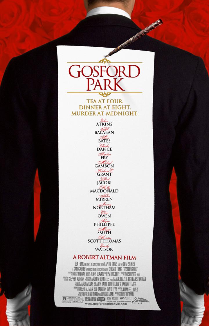 Gosford Park (2001) BluRay 480p, 720p & 1080p