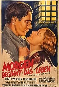 Carl Behr, Harry Frank, Erich Haußmann, Hanson Milde-Meissner, and Hilde von Stolz in Morgen beginnt das Leben (1933)