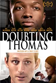 Jamie Hector, Will McFadden, and Sarah Butler in Doubting Thomas (2018)
