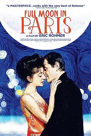 Full Moon in Paris poster