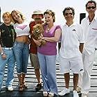 Josiane Balasko, Christian Clavier, Michel Blanc, Marie-Anne Chazel, Gérard Jugnot, and Thierry Lhermitte in Les bronzés 3: amis pour la vie (2006)