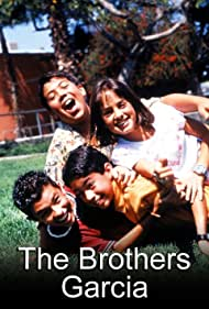 Alvin Alvarez, Bobby Gonzalez, Vaneza Leza Pitynski, and Jeffrey Licon in The Brothers Garcia (2000)