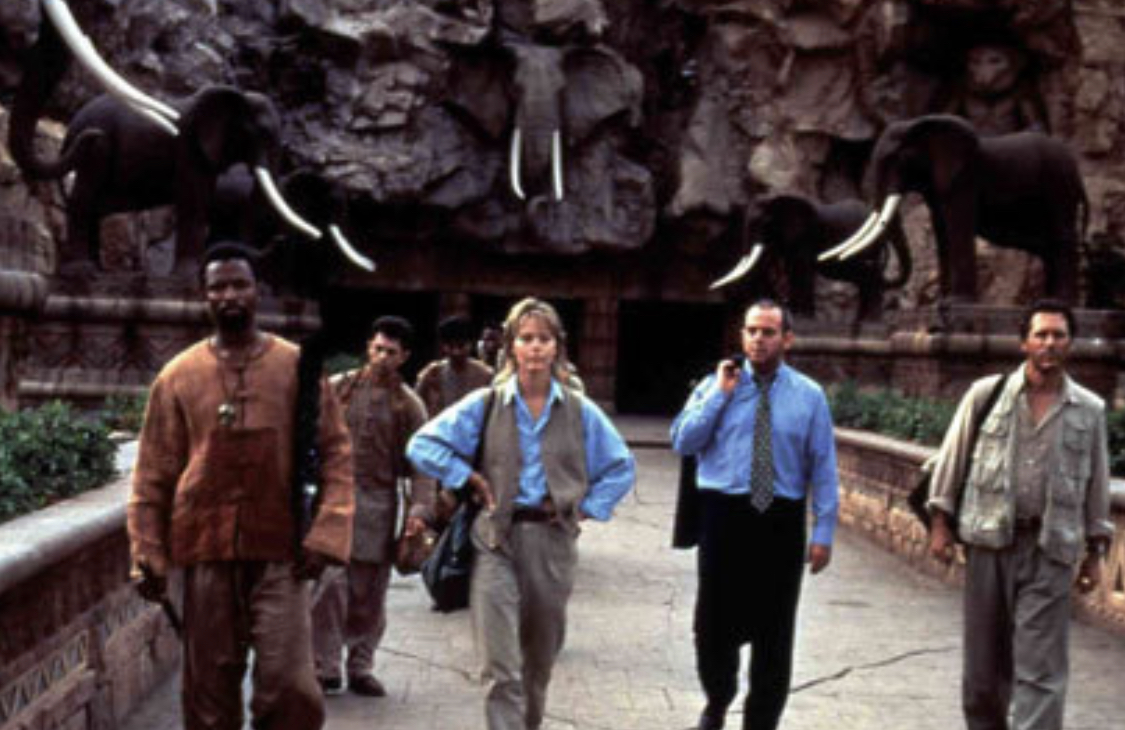 Susan Dey, Cotter Smith, and Robert Whitehead in Bridge of Time (1997)