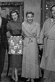 Jackie Gleason, Art Carney, Audrey Meadows, and Joyce Randolph in The Honeymooners (1955)