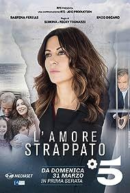 Sabrina Ferilli in L'amore strappato (2019)