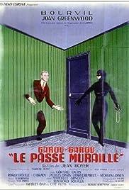 Le passe-muraille Poster