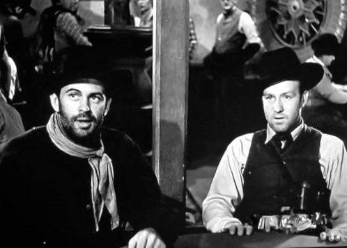 Steve Brodie and Phil Warren in Badman's Territory (1946)