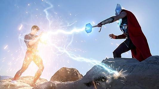 Website zum Ansehen eines Online-Films Super Power Beat Down: Superman vs. Thor by Aaron Schoenke [1280x720] [1020p] [720x576]