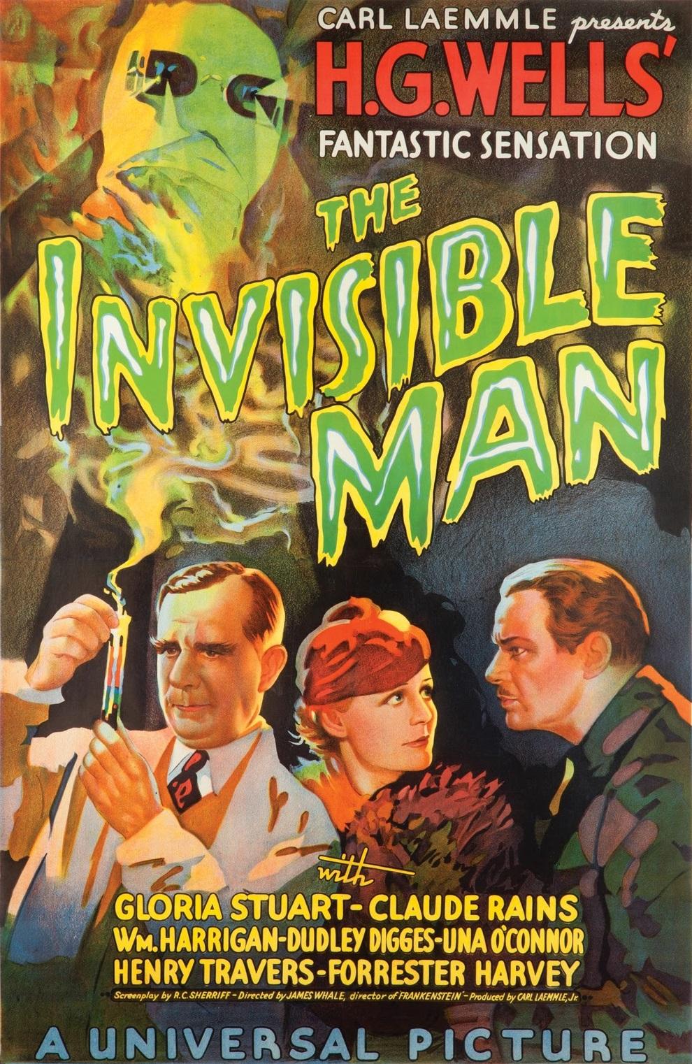 The Invisible Man (1933) - IMDb