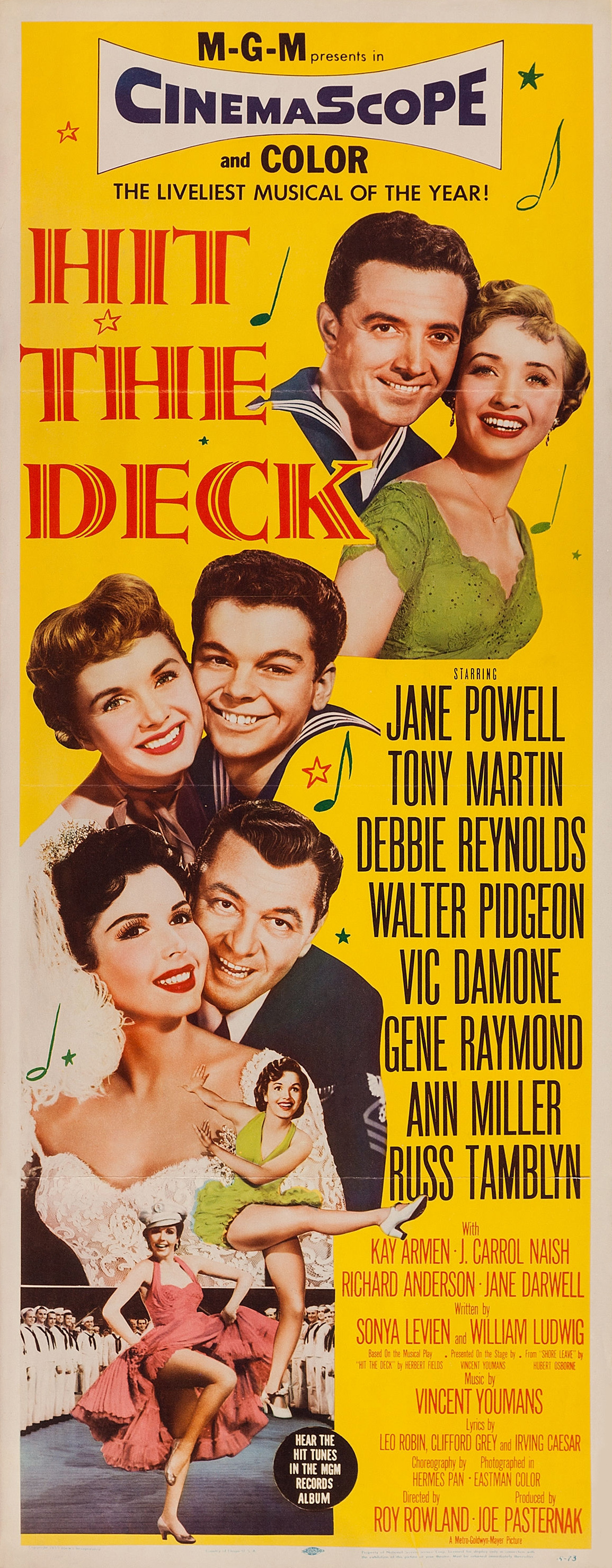 Hit the Deck (1955) - Photo Gallery - IMDb