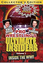 Pro Wrestling's Ultimate Insiders Vol 3 Poster