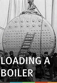 Loading a Boiler Poster