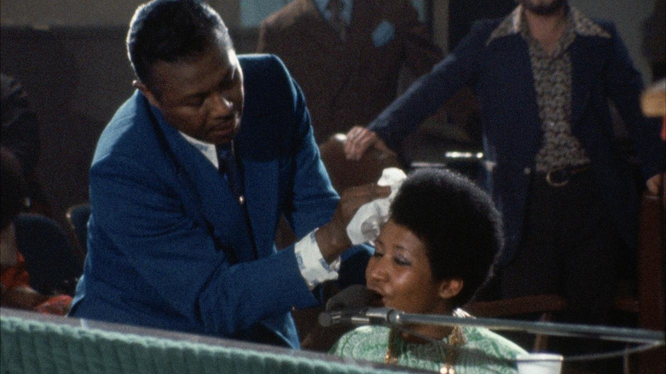 Aretha Franklin and C.L. Franklin in Amazing Grace (2018)