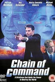 Michael Biehn, Maria Conchita Alonso, Roy Scheider, and Patrick Muldoon in Chain of Command (2000)