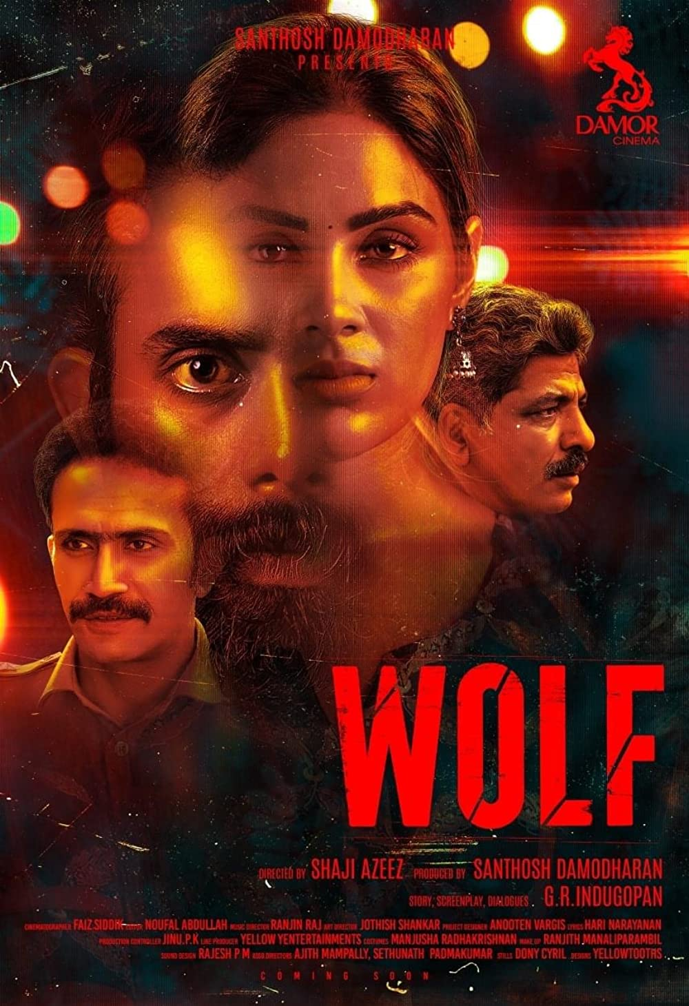 Download Wolf 2021 Malayalam Movie 480p HDRip 400MB