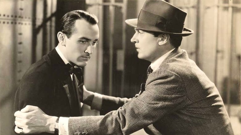 Lee Bowman and Walter Pidgeon in Society Lawyer (1939)