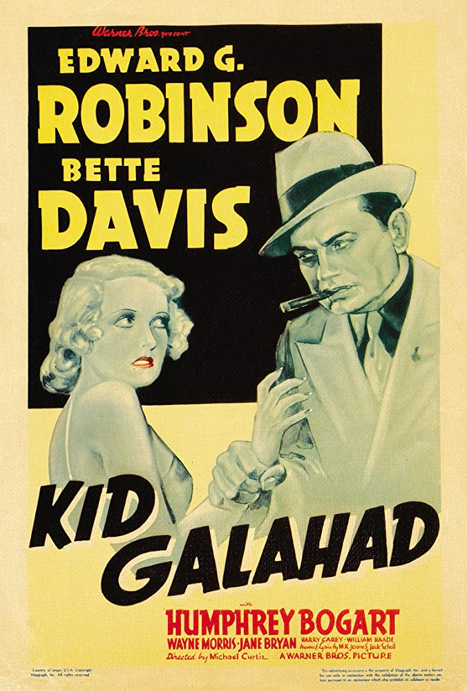 Bette Davis and Edward G. Robinson in Kid Galahad (1937)