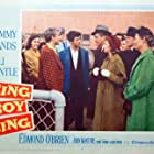 Nick Adams, Lili Gentle, Josephine Hutchinson, Edmond O'Brien, Tommy Sands, and Regis Toomey in Sing Boy Sing (1958)