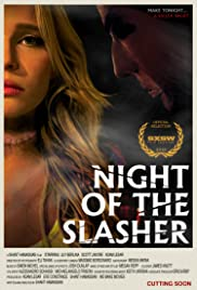 Night of the Slasher(2015) Poster - Movie Forum, Cast, Reviews
