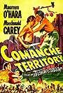 Maureen O'Hara and Macdonald Carey in Comanche Territory (1950)