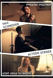 Max Schneider & Alyson Stoner: Sweater Weather Poster