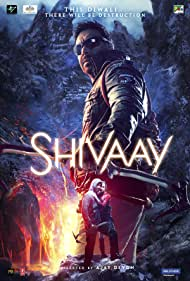 Ajay Devgn and Abigail Eames in Shivaay (2016)