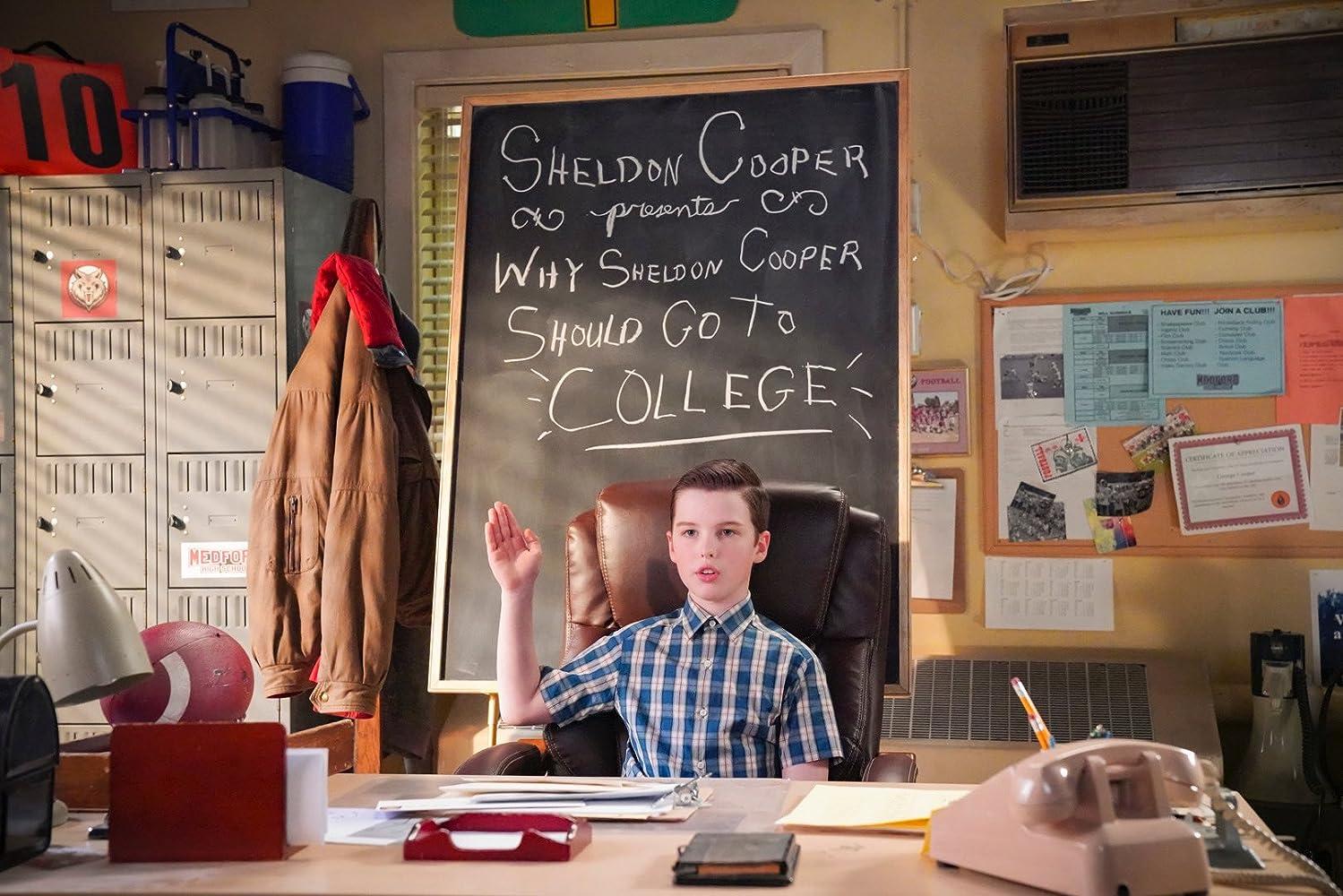 Joven Sheldon 3×21 – Una carta secreta y un humilde disco de carne procesada