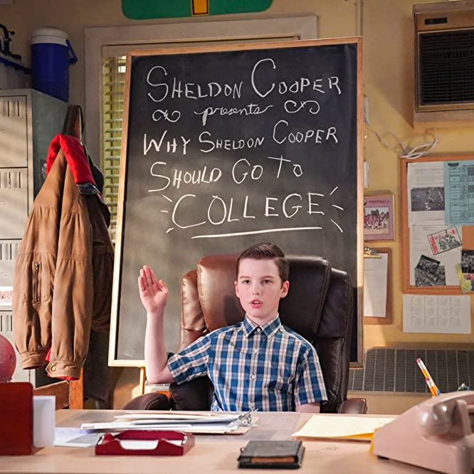 Iain Armitage in Young Sheldon: A Secret Letter and a Lowly Disc of Processed Meat (2020)