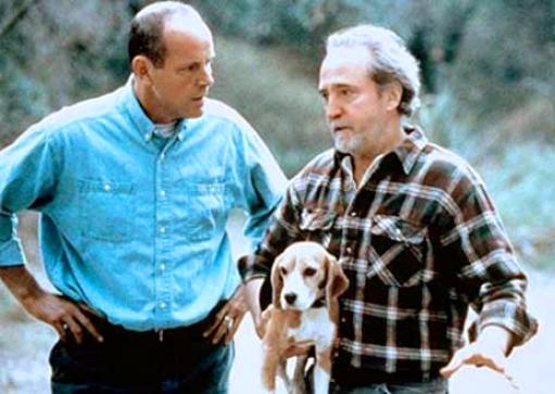 Michael Moriarty, Scott Wilson, and Frannie The Dog in Shiloh (1996)