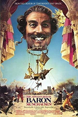 The Adventures of Baron Munchausen Poster Image
