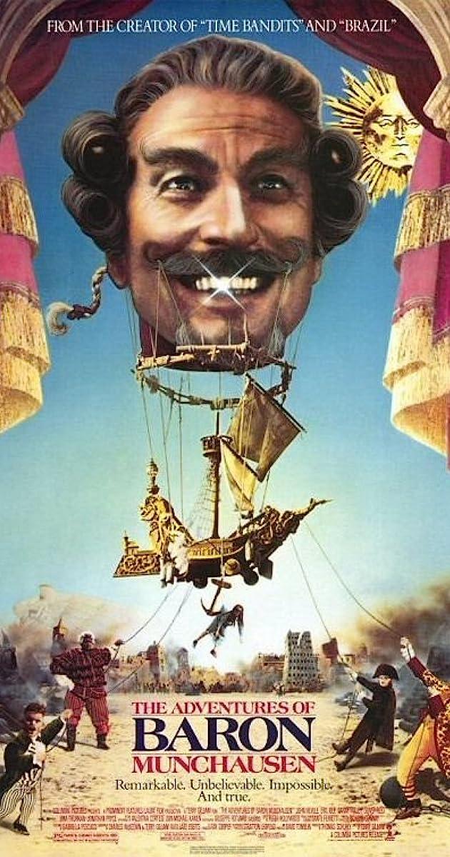 The Adventures Of Baron Munchausen 1988 Imdb