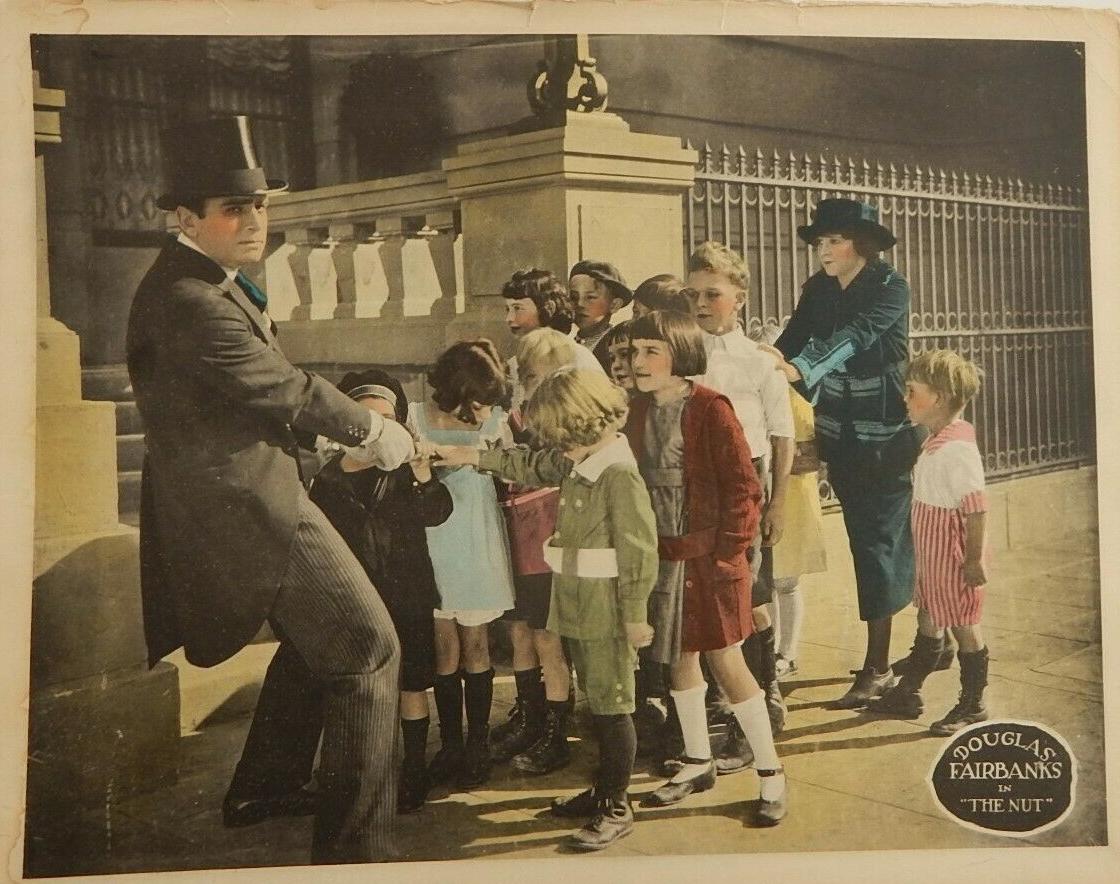 Douglas Fairbanks in The Nut (1921)