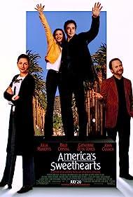 John Cusack, Julia Roberts, Billy Crystal, and Catherine Zeta-Jones in America's Sweethearts (2001)
