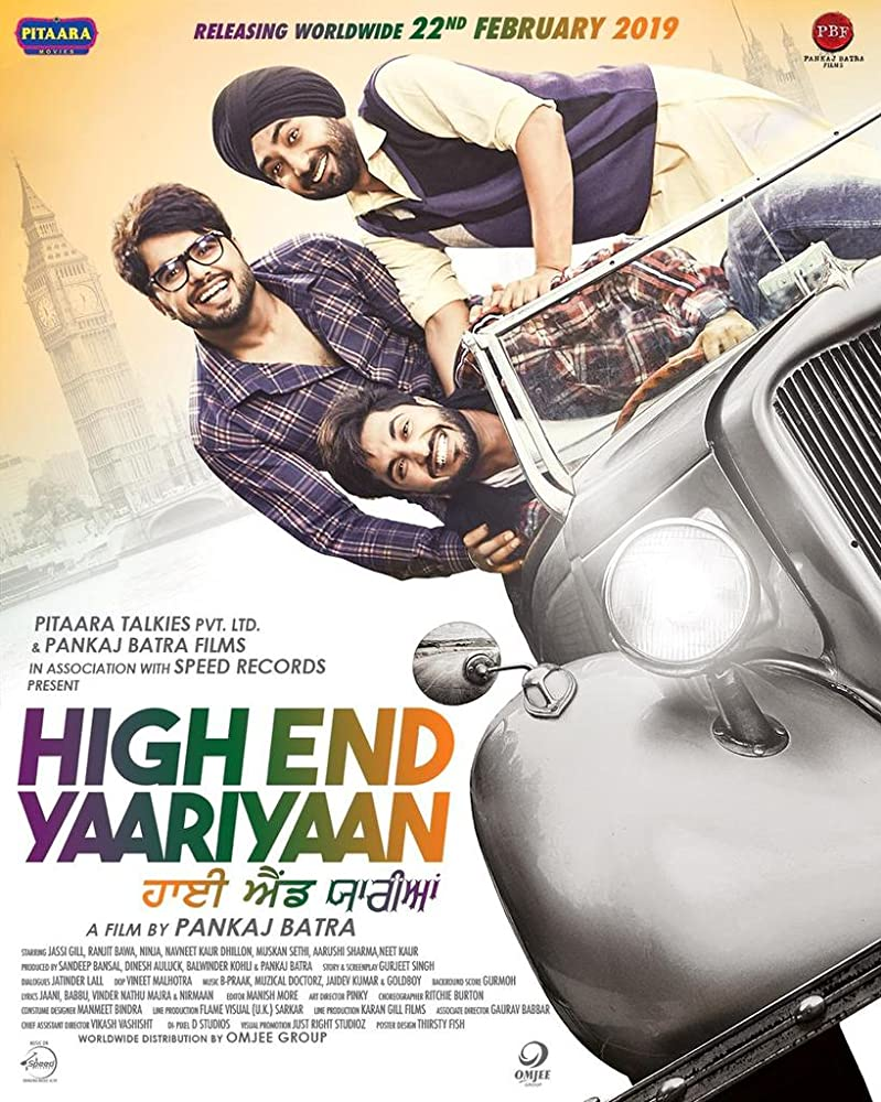 High End Yaariyan 2019 Punjabi movie free Online HD