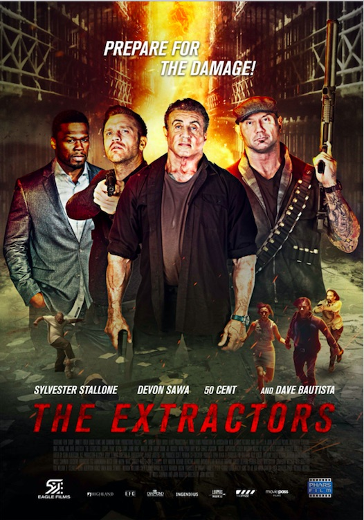 Poster film 'Escape Plan: The Extractors' (2019)