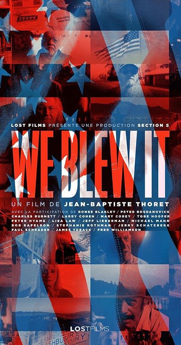 We Blew It (2017) Subtitles