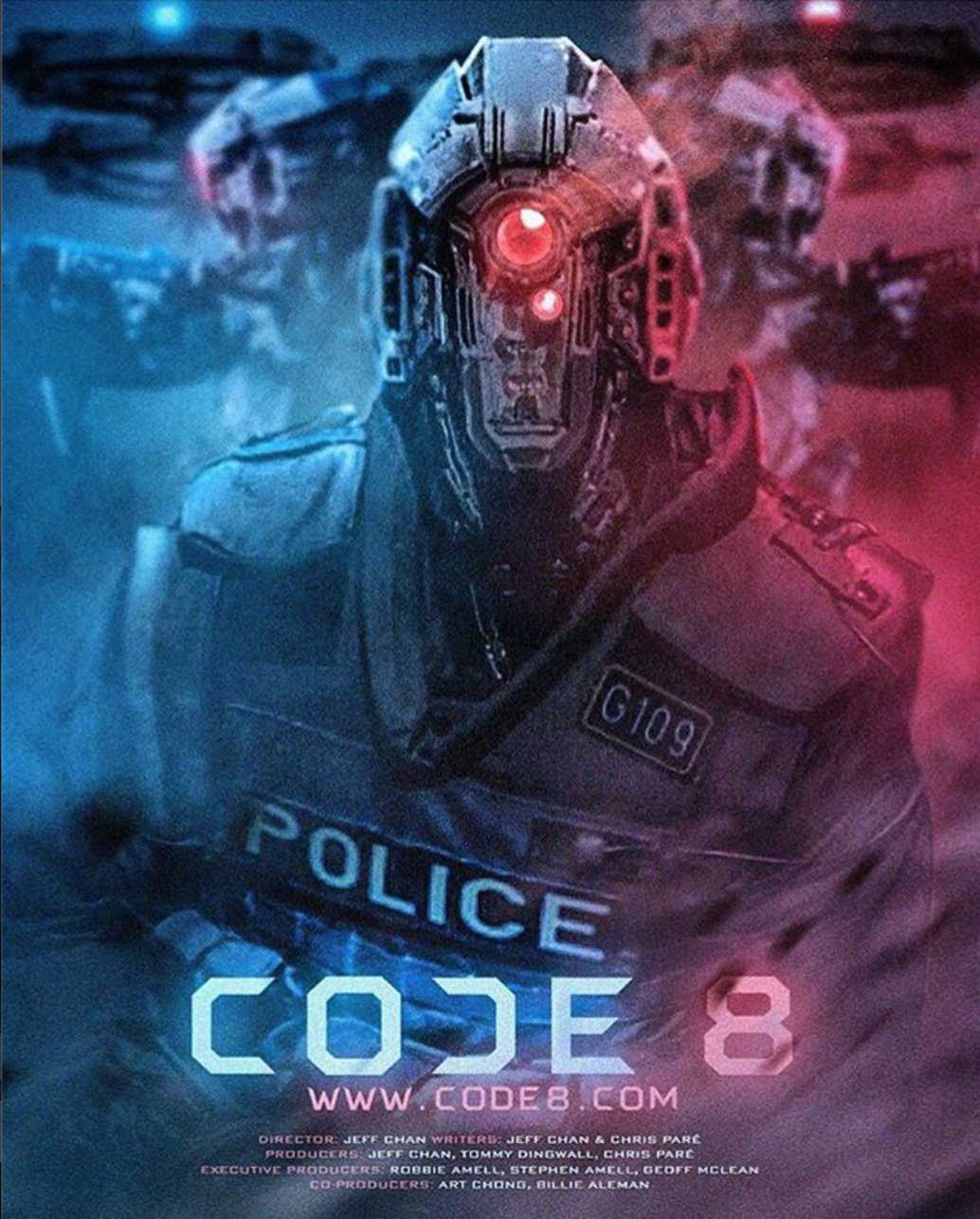 Image result for code 8 poster""