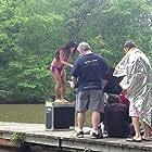 Donnabella Mortel in Alabama, shooting Freshwater