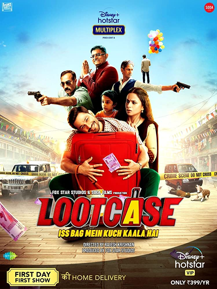Lootcase 2020 Hindi 650MB HDRip 720p HEVC x265 ESubs Download