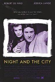 Robert De Niro and Jessica Lange in Night and the City (1992)