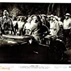 Ronald Reagan, Nick Borgani, Rhonda Fleming, Maurice Jara, and Carlos Acosta in Tropic Zone (1953)