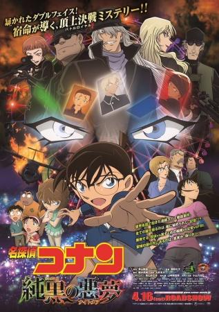 Phim Thám tử Conan Movie 20: Cơn Ác Mộng Đen Tối - Detective Conan Movie 20: The Darkest Nightmare (2016)
