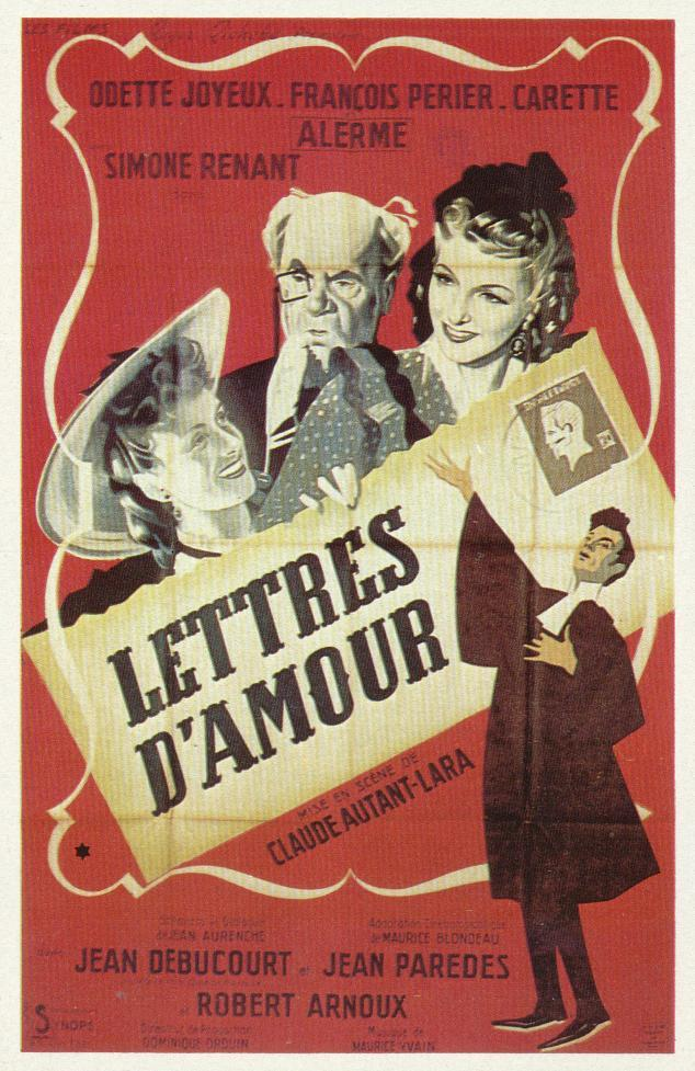 lettre d\\\'amour Lettres d'amour (1942)   IMDb lettre d\\\'amour