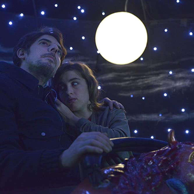 Adèle Haenel and Damien Bonnard in The Trouble with You (2018)