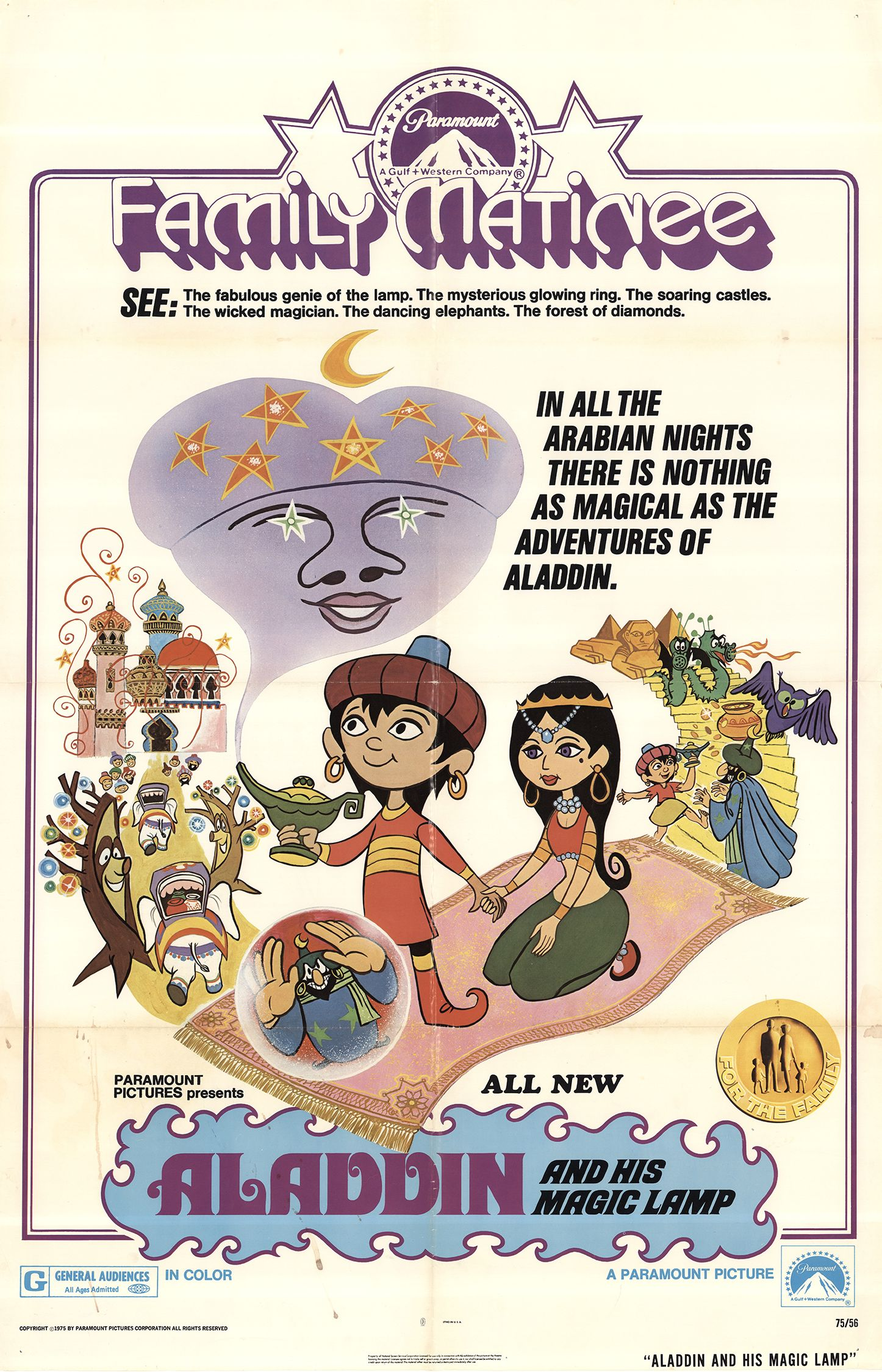Aladdin The Magic Lamp 1970 Imdb