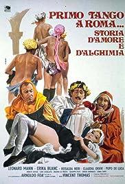 Primo tango a Roma... storia d'amore e d'alchimia Poster