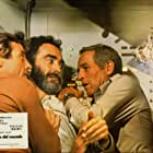 Paul Newman, James Franciscus, and John Considine in When Time Ran Out... (1980)