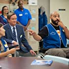 Mark McKinney, America Ferrera, Colton Dunn, and Kaliko Kauahi in Superstore (2015)