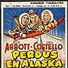 Bud Abbott, Lou Costello, and Mitzi Green in Lost in Alaska (1952)